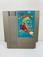 THE ROCKETEER -- NES Nintendo Original Classic Authentic Game TESTED