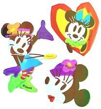 Disney MINNIE MOUSE y DAISY PATO 3 Pack Kit de pegatinas de pared