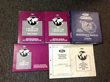 1997 Ford F-250 350 F250 F350 Super Duty Truck Service Shop Repair Manual Set