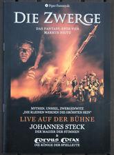 DIE ZWERGE - Markus Heitz - Corvus Corax - Presse- oder Programmheft