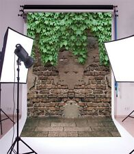 Baby 3x5ft Ivy Cover Peeling Wall Background Vinyl Photography Studio Backdrop