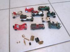 lot d'ancienne voiture de collection en plastique type maquette