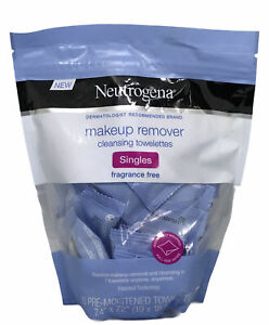 Neutrogena Makeup Cleansing Towelettes Individually Wrapped  Pack of 20