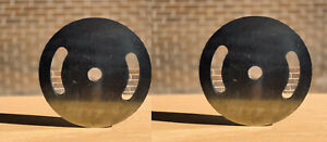 """2X Weight Steel Gym Plates for 1 inch or 2"""" olympic bars 2.5KG 5KG 10KG 20KG"""