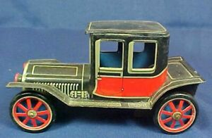 Vintage Cragstan Friction Driven Tin Car Model A Style