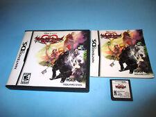 Kingdom Hearts 358/2 Days (Nintendo DS) Lite w/Case & Manual