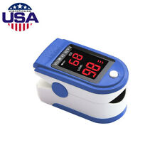 Fingertip Pulse Oximeter Blood Oxygen Meter SpO2 Heart Rate Monitor Saturation