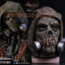 Cosplay Game Batman Arkham Knight Mask Scarecrow Mask Full Head Latex Mask Prop