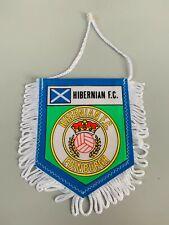 Hibernian FC fanion vintage foot football banderin pennant wimpel