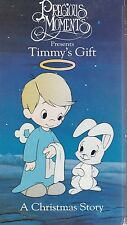 Precious Moments Timmy's Gift  A Christmas Story VHS Very Good Christmas