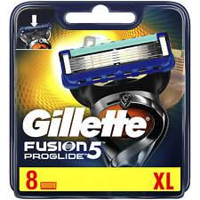 Gillette Fusion 5 Proglide 8 XL Razor Blades (8 Pack) | FREE 🚚 DELIVERY