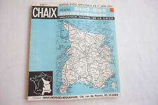 1969 SNCF Sud Est French Francais Railway Train Timetable