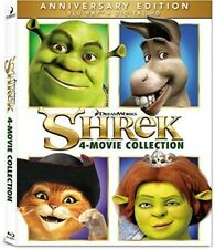 Shrek: 1-4 Collection (Blu-ray Disc, 2016, 4-Disc Set)
