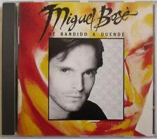 """MIGUEL BOSÉ - RARE CD """"DE BANDIDO A DUENDE"""" (1988)"""