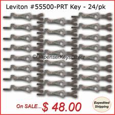 Leviton #55500-PRT - Tamper Proof Electrical Switch Key - (24/pcs - Bulk Pack)