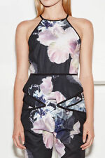 Evening, Occasion Peplum Floral Sleeve Tops & Blouses for Women