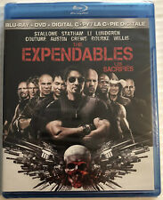 The Expendables (Bluray, DVD, 2010, Stallone, Statham) Canadian, New