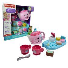 Fisher Price Juguete Dulce modales juego de té del Niño Bebé Juguete Interactivo Juguete Divertido Nuevo
