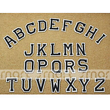 26PCS Embroidered Sew On Patches English Letter Transfer Fabric Clothes Applique
