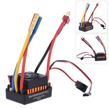 60A Impermeable Brushless ESC variador eléctrico para 1/10 RC Coche Barco parte