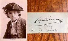 More details for sir john martin harvey actor & his wife miss n. de silva rare twin autographs