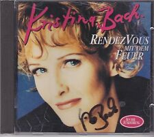 Kristina Bach-Rendezvous Mit Dem Feuer cd album gesigneerd