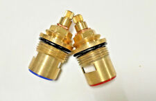 Bristan 1/4 Turn Tap Pair of Cartridges VS03-C20 20 spline 3/4 valves