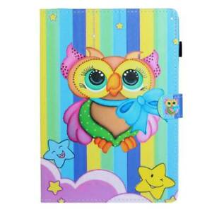 """Folio Leather Wallet Case Cover For Universal Android Tablet PC 7-10.1"""" w/ Styus"""