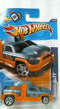 2012 Hot Wheels 133/247 HW City Works Diesel Duty - Orange/Blue