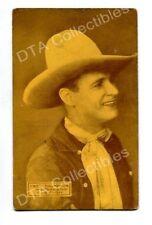 WESTERN STAR-ARCADE CARD-FRED THOMPSON-1920 G