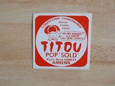 Autocollant TITOU CONFECTION CHAUSSURES AMIENS