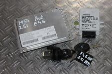 BMW 3er e46 325i 325ci m54 moteur dispositif de commande DME sme programmé 2 clés