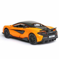 McLaren 600LT 2019 1:32 Scale Model Car Alloy Diecast Toy Vehicle Gift Orange