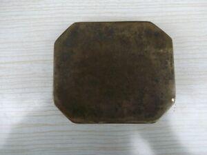 Ancien cendrier érotique en bronze