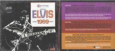 ELVIS PRESLEY 1969 IN MEMPHIS IN PERSON ON STAGE 1 & 2 SESSION FOLIO BOX SCELLÉ