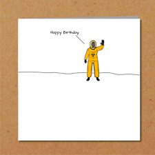 Self Isolation / Quarantine Birthday Card - Funny Amusing Humour Family Friends