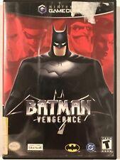Batman: Vengeance (Nintendo GameCube, 2001) Complete & Tested!!!