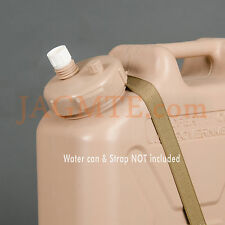 Suction - LCI MWC-Sand/Tan-Modified Cap for Suction pump - Military WATER Can