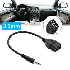 1x Car Audio Aux Jack To Usb 20 Type A Female Converter Adapter Cable Car Parts Fits Isuzu