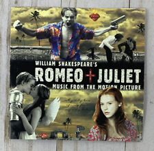 ROMEO + JULIET: MUSIC FROM THE MOTION PICTURE (1996, CD with booklet)