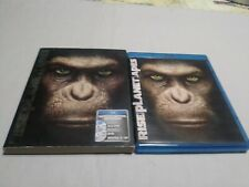 Rise of the Planet of the Apes (Blu-ray/DVD, 2011, 2-Disc Set, Includes Digital…