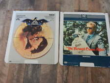 Vintage CED Videodisc LOT- 3 Days of Condor, Thomas Crown Affair-2 discs-RARE!