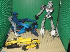 lego bionicle lot POWER Robo Rider  8514 Roborider & 8571 Bionicle KOPAKA NUVA