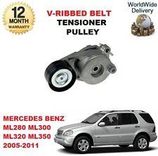 FOR MERCEDES BENZ ML280 ML300 ML320 ML350 W164 V RIBBED BELT TENSIONER PULLEY