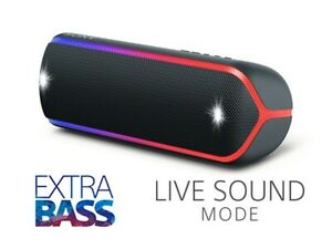 SONY SRSXB32 EXTRA BASS BLUETOOTH SPEAKER/ BLACK or RED COLORS
