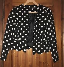 Formal Spotted Coats & Jackets without Fastening for Women