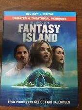 Blumhouse's Fantasy Island Blu-ray + Digital + Slip Cover new
