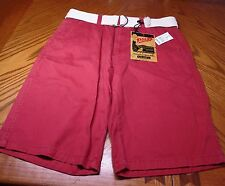 NWT Men's Plugg Shorts, Size 30 Dusty Red