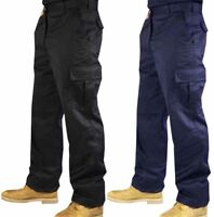 Mens Work Wear Combat Trouser Boys Combat Side Pocket Cargo Trouser Pants