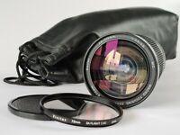 Vivitar 28-210mm Macro Focusing Zoom Lens Canon FD Fit Case Cap Filter Excellent